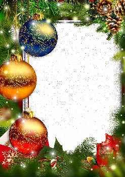 Tarjetas Y Marcos De Navidad Con Su Foto Gratis